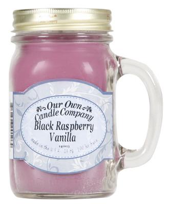 Black Raspberry & Vanilla Küçük Kavanoz Mum SIMM-BR