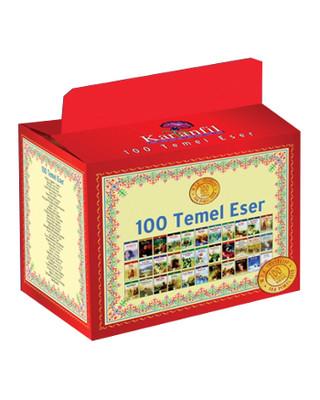 Karanfil 100 Temel Eser - 33 Kitap Takım