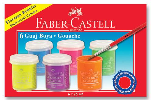 Faber-Castell Floresan Guaj Boya 6 Renk - 5170160403