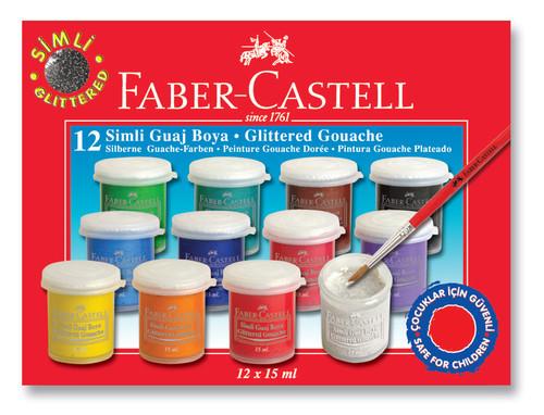 Faber-Castell Simli Guaj Boya 12 Renk - 5170160404