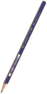 Faber-Castell 4'lü Blister Goldfaber Dereceli 3B Kursun Kalem
