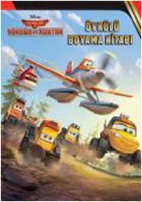 Disney Uçaklar 2 - Söndür ve Kurtar Öykülü Boyama Kitabı