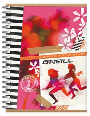 O'Neill Girls A4 Defter / 80 Yaprak/ Ruled 7,5 Mm/  - Steam142Ong265