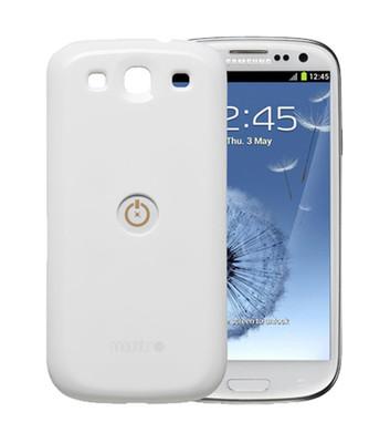 Mountr Samsung Galaxy S3 Kapak Beyaz - CO1-S3W