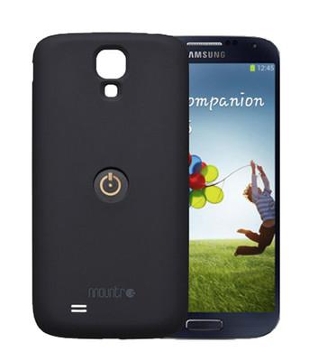 Mountr Samsung Galaxy S4 Kapak Siyah - CO1-S4B