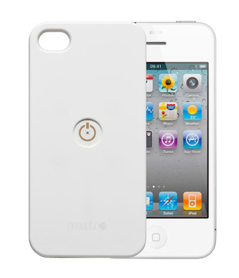 Mountr İphone 4/4S Kapak Beyaz CA1-İ4W
