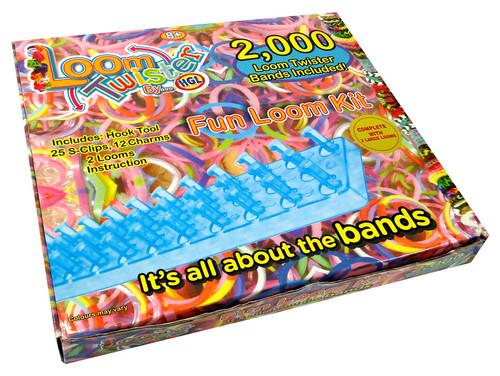 Rainbow  Loom Twister Set 2000 Parça SV 11755