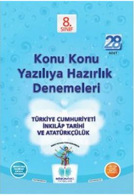 Sözün Özü  8.Sınıf T.C. İnkılap Tarihi ve Atatürkçülük Konu Konu Yazılıya Hazırlık Denemeleri  (28 A