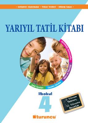 4. Sınıf Turuncu Yarıyıl Tatil Kitabı