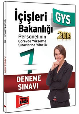 Yargı GYS İçişleri Bakanlığı 7 Fasikül Deneme Sınavı 2014