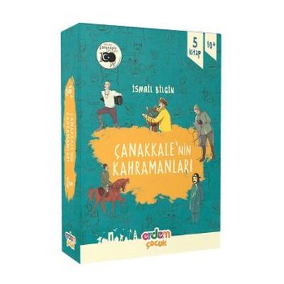 Çanakkale'nin Kahramanları 1 - 5 Kitap Takım
