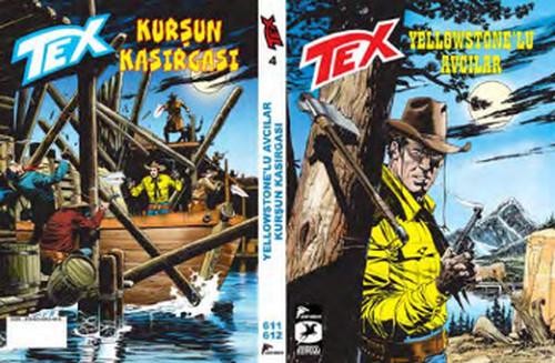 Tex 4 - Yellowstone'lu Avcılar - Kurşun Kasırgası