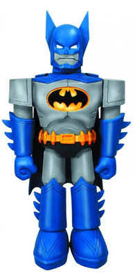 Funko Blue Suit Batman Robot Vinyl Invaders