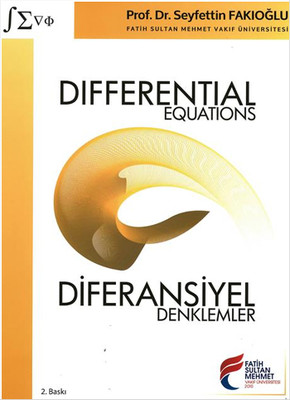 Differential Equations - Diferansiyel Denklemler