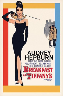 Pyramid International Maxi Poster - Audrey Hepburn - Breakfast At Tiffanys On Sheet