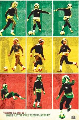 Pyramid International Maxi Poster - Bob Marley - Football