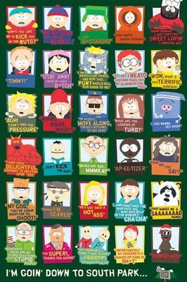 Pyramid International Maxi Poster - South Park - Quotes