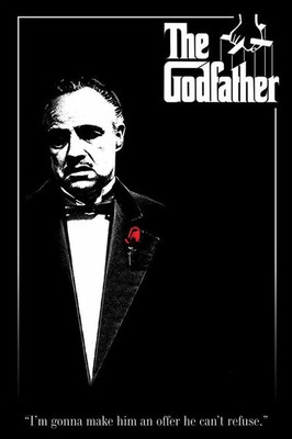 Pyramid International Maxi Poster - The Godfather - Red Rose