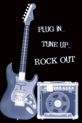 Pyramid International Maxi Poster - Plug In Tune Up Rock Out
