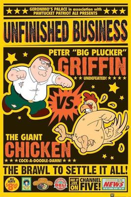 Pyramid International Maxi Poster - Family Guy - Chicken Fight