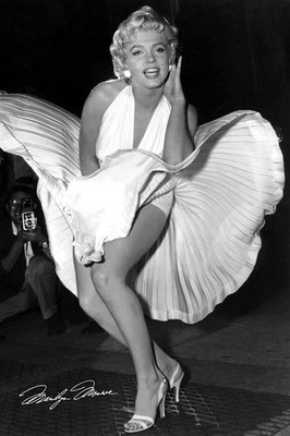 Pyramid International Maxi Poster - Marilyn Monroe - Seven Year Itch