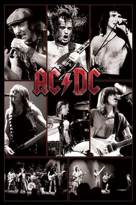 Pyramid International Maxi Poster - AC/DC - LIVE