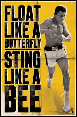 Pyramid International Maxi Poster - Muhammed Ali - Float Like A Butterfly