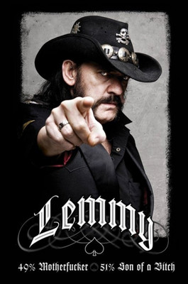 Pyramid International Maxi Poster - LEMMY - 49% MOFO