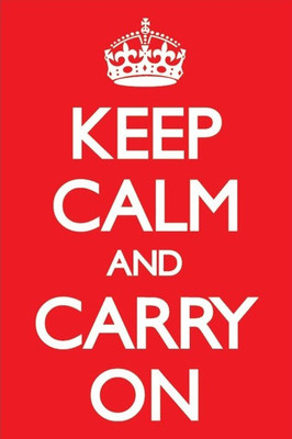 Pyramid International Maxi Poster - Keep Calm And Carry On - Red