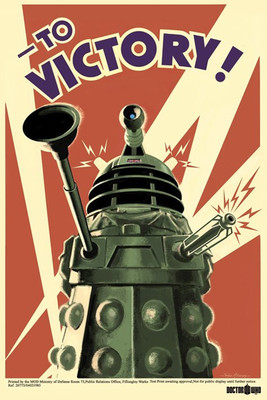 Pyramid International Maxi Poster - Doctor Who - To Victory