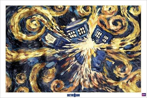 Pyramid International Maxi Poster - Doctor Who - Exploding Tardis