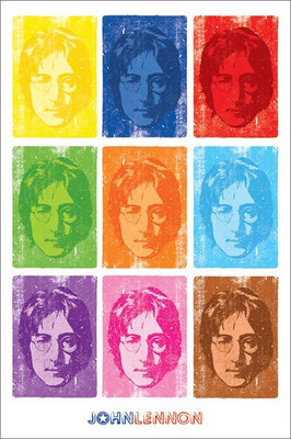 Pyramid International Maxi Poster - John Lennon - Pop Art