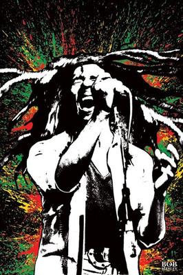Pyramid International Maxi Poster - Bob Marley Paint Slash