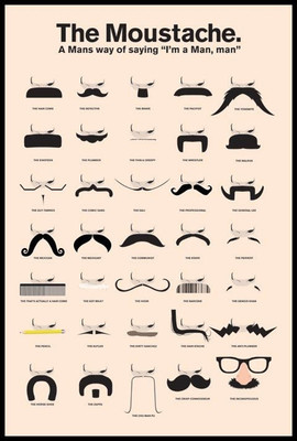 Pyramid International Maxi Poster - The Moustache