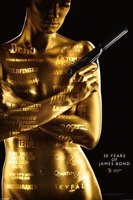 Pyramid International Maxi Poster - James Bond - 50th Anniversary