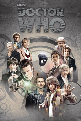 Pyramid International Maxi Poster - Doctor Who - Doctors Through The Time