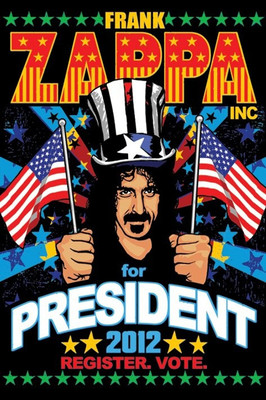Pyramid International Maxi Poster - Frank Zappa - For President