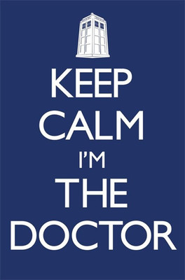 Pyramid International Maxi Poster - Doctor Who Keep Calm