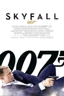 Pyramid International Maxi Poster - James Bond Skyfall One Sheet White