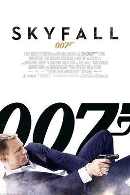 Pyramid International Maxi Poster - James Bond Skyfall One Sheet White