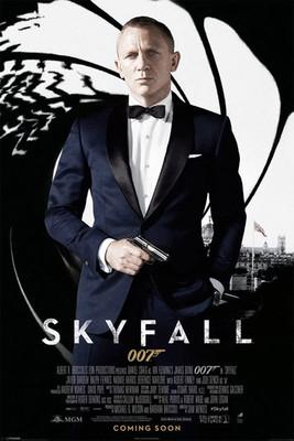 Pyramid International Maxi Poster - James Bond - Skyfall One Sheet - Black