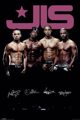 Pyramid International Maxi Poster - JLS - Topless