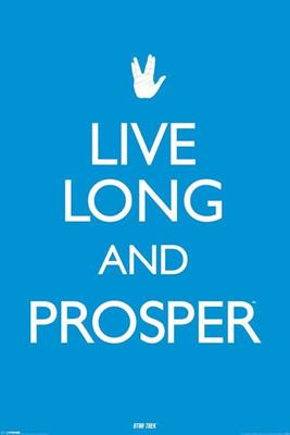 Pyramid International Maxi Poster - Star Trek - Live Long And Prosper