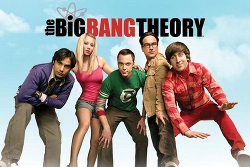 Pyramid International Maxi Poster - Big Bang Theory Sky