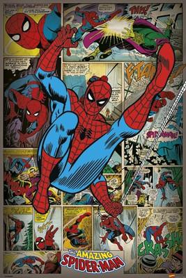 Pyramid International Maxi Poster - Spiderman Retro