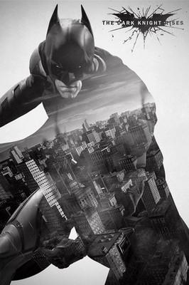 Pyramid International Maxi Poster - The Dark Knight Rises City Silho