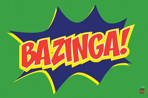Pyramid International Maxi Poster - Big Bang Theory Bazinga Icon