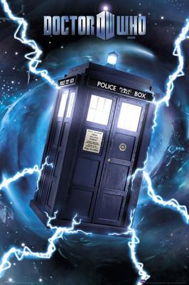 Pyramid International Maxi Poster - Doctor Who Tardis Foil