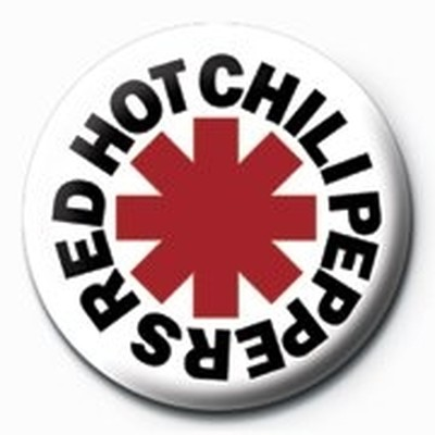 Pyramid International Rozet - Red Hot Chilli Peppers - Logo