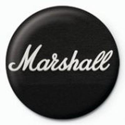 Pyramid International Rozet - Marshall Black Logo